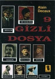 9 Gizli Dosya - copertina