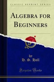 Algebra for Beginners - copertina
