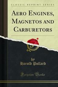 Aero Engines, Magnetos and Carburetors - copertina