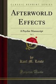 Afterworld Effects - copertina