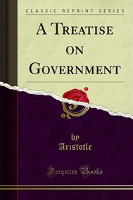 A Treatise on Government - copertina