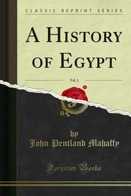 A History of Egypt - copertina