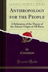 Anthropology for the People - copertina