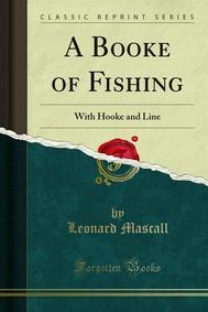 A Booke of Fishing - copertina