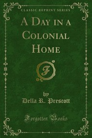 A Day in a Colonial Home - copertina