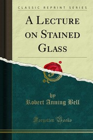 A Lecture on Stained Glass - copertina