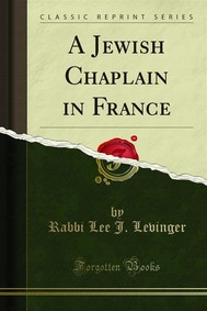 A Jewish Chaplain in France - copertina
