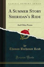 A Summer Story Sheridan's Ride - copertina
