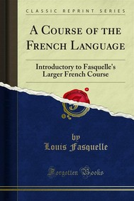 A Course of the French Language - copertina