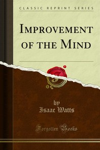 Improvement of the Mind - Librerie.coop