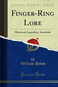 Finger-Ring Lore - Librerie.coop