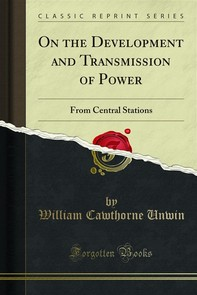 On the Development and Transmission of Power - Librerie.coop