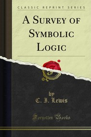 A Survey of Symbolic Logic - copertina