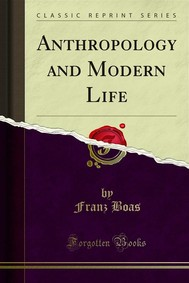 Anthropology and Modern Life - copertina