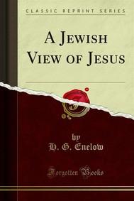 A Jewish View of Jesus - copertina