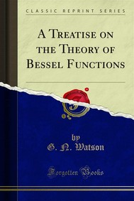 A Treatise on the Theory of Bessel Functions - copertina