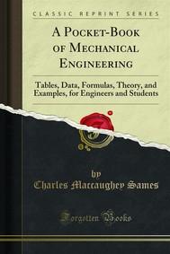 A Pocket-Book of Mechanical Engineering - copertina