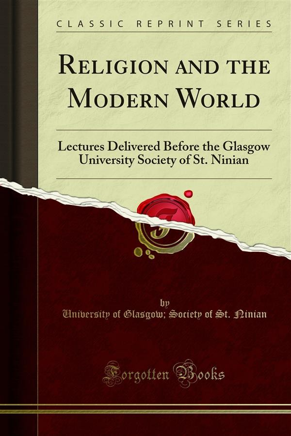 Religion and the modern world society of st ninian university of religion and the modern world ebook di society fandeluxe Choice Image