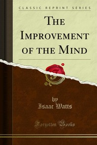 The Improvement of the Mind - Librerie.coop
