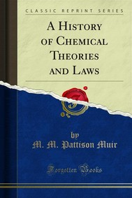 A History of Chemical Theories and Laws - copertina