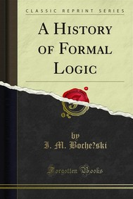 A History of Formal Logic - copertina
