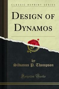 Design of Dynamos - Librerie.coop