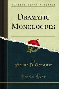 Dramatic Monologues - Librerie.coop