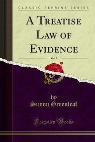 A Treatise Law of Evidence - copertina