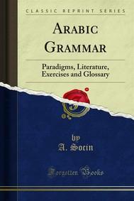 Arabic Grammar - copertina