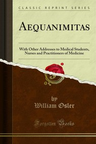 Aequanimitas - copertina