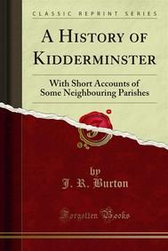 A History of Kidderminster - copertina