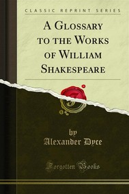 A Glossary to the Works of William Shakespeare - copertina