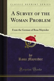 A Survey of the Woman Problem - copertina