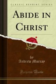 Abide in Christ - copertina