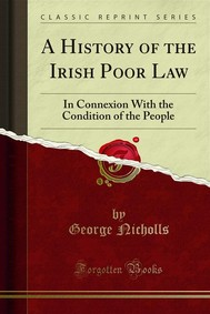 A History of the Irish Poor Law - copertina