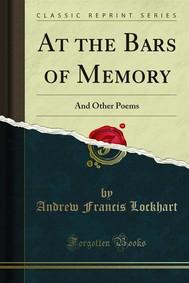 At the Bars of Memory - copertina