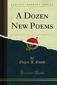 A Dozen New Poems - copertina