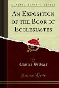 An Exposition of the Book of Ecclesiastes - copertina