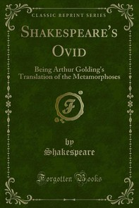 Shakespeare's Ovid - Librerie.coop