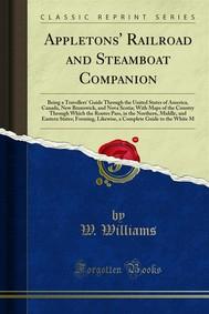 Appletons' Railroad and Steamboat Companion - copertina