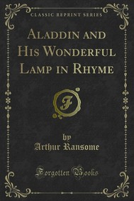 Aladdin and His Wonderful Lamp in Rhyme - copertina