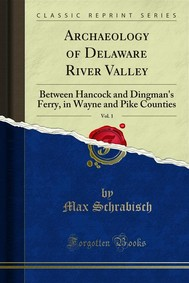 Archaeology of Delaware River Valley - copertina