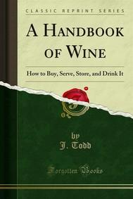 A Handbook of Wine - copertina