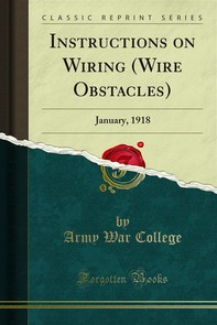 Instructions on Wiring (Wire Obstacles) - Librerie.coop