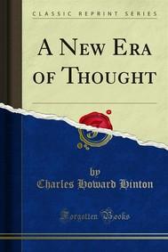 A New Era of Thought - copertina