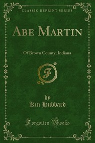 Abe Martin - copertina