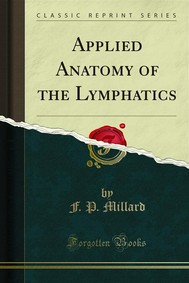 Applied Anatomy of the Lymphatics - copertina