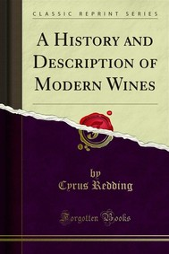 A History and Description of Modern Wines - copertina