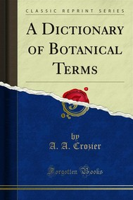 A Dictionary of Botanical Terms - copertina