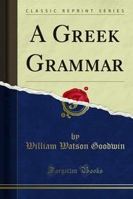 A Greek Grammar - copertina